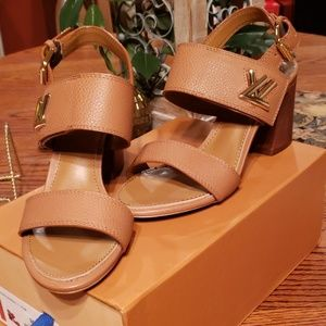 18e1f358afce Women s Louis Vuitton Ankle Strap Heels on Poshmark